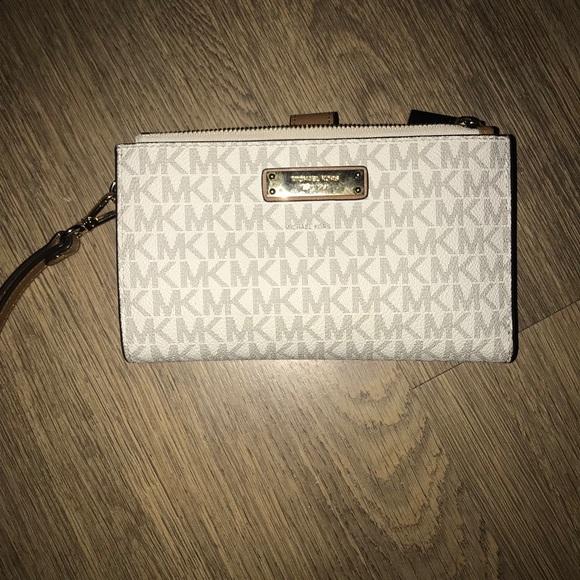6f60335a568f Michael Kors Bags | Mk Adele Logo Smartphone Wristlet | Poshmark